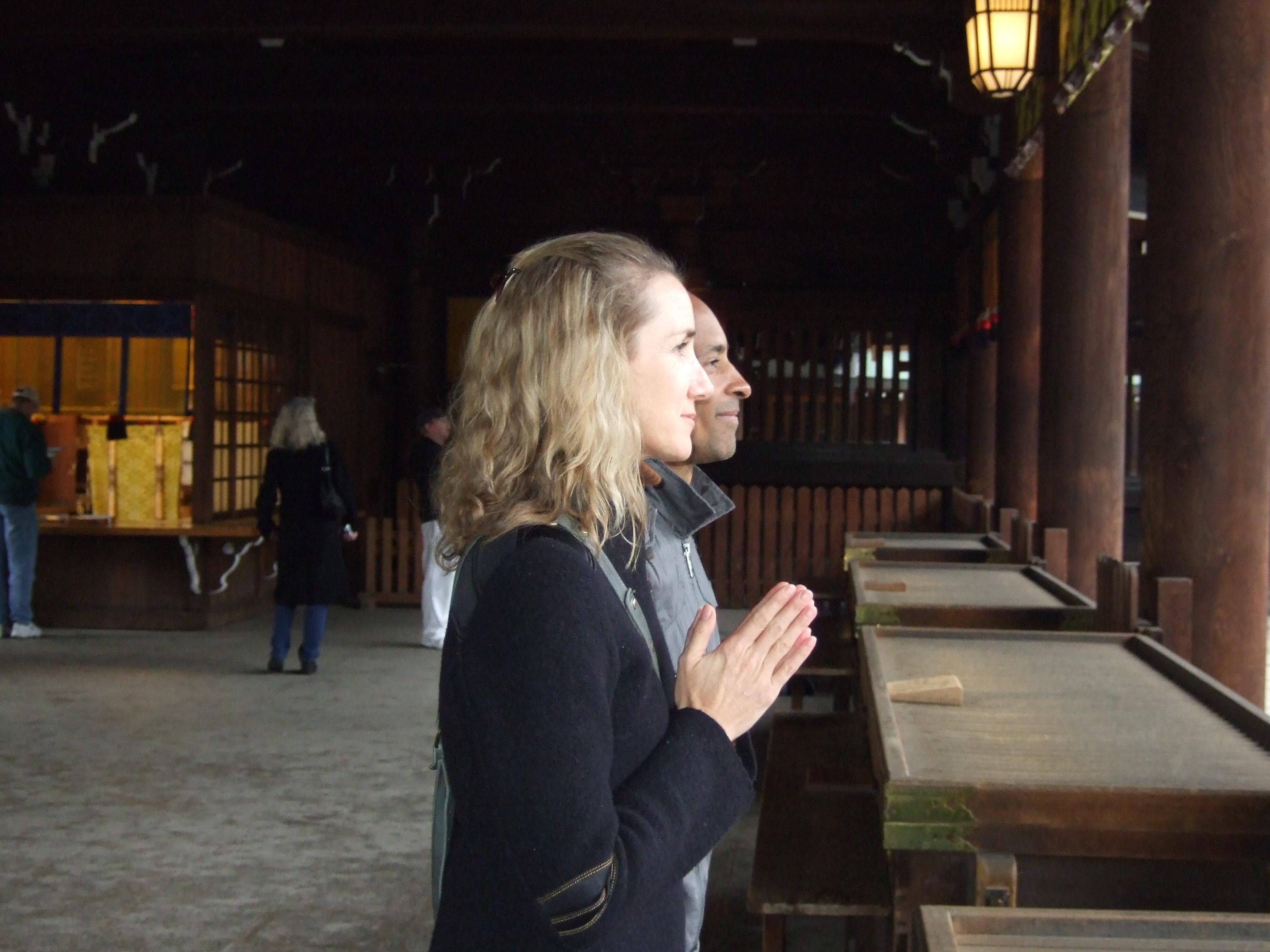 Sarah and Ty Powers in Tokyo: ヨガワークショップなら「SAKURA